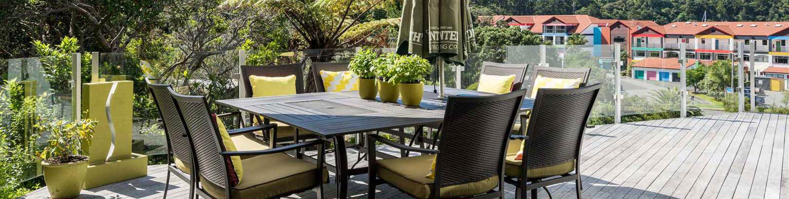 A great outdoor space to relax in