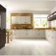 A contemporary kitchen design