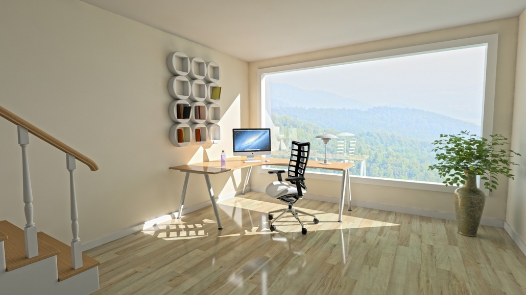 A functional home office