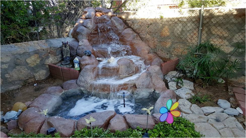 Go for a water feature