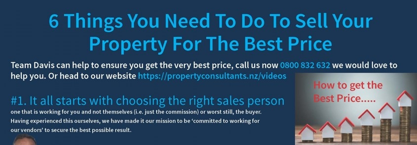 6 Things you need to do to sell your property for the best price