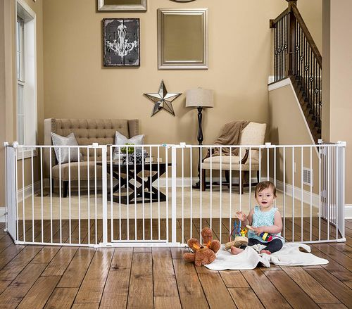 Making your home safe for young children with temporary gates etc